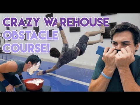 Thumbnail: Crazy Warehouse Obstacle Course!!