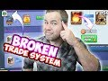 THE BROKEN TRADE SYSTEM and HOW TO FIX IT! Clash Royale
