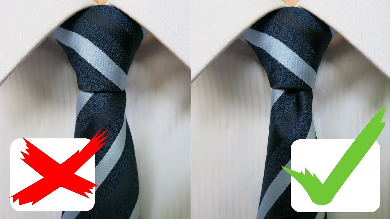 How To Tie A Tie Full Double Windsor Knot 2018 Youtube