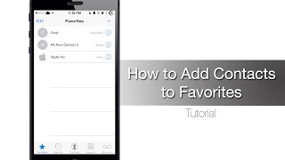 How to use Speed Dial on your iPhone