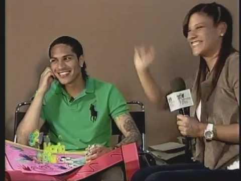 321 Maria Pia - Entrevista a Paolo Guerrero Completa! (19/11/11)