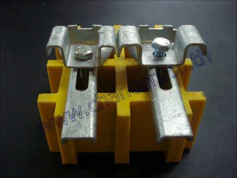HDG Steel Grating clip lock clamp fastener ตัวคลิปล็อคยึดจับแผงตะแกรงมีฐานตีนเป็ด