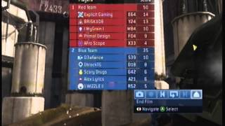 Halo 3 Matchmaking Gameplay #27 - SS Sweaty 5's