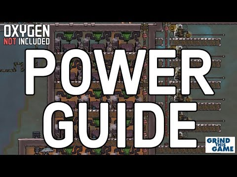 Beginner's Power Guide Tutorial - Oxygen Not Included [4k]