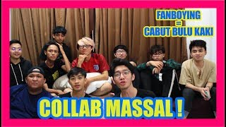 TRY NOT TO REACT feat FANBOY-FANBOY LEMAH SYAHWAT