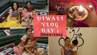 How we celebrated Diwali 2018 in Sydney | Day 1 Dhanteras