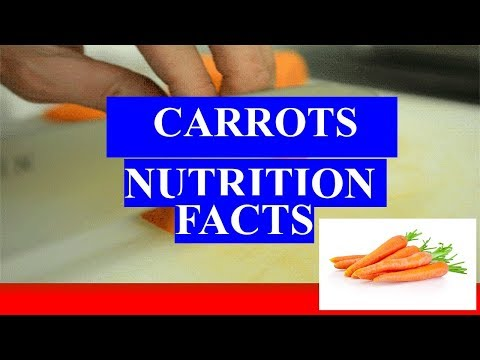 CARROTS HEALTH BENEFITS AND NUTRITION FACTS
