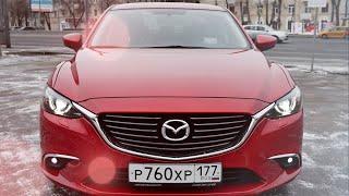 Тест драйв Mazda 6 2015 2.0 150 л.с. АКПП Supreme смотреть