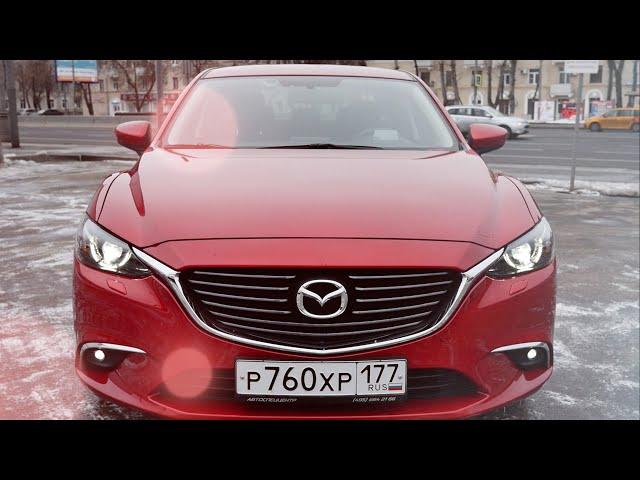 Тест драйв Mazda 6 2.0 150 л.с. АКПП Supreme