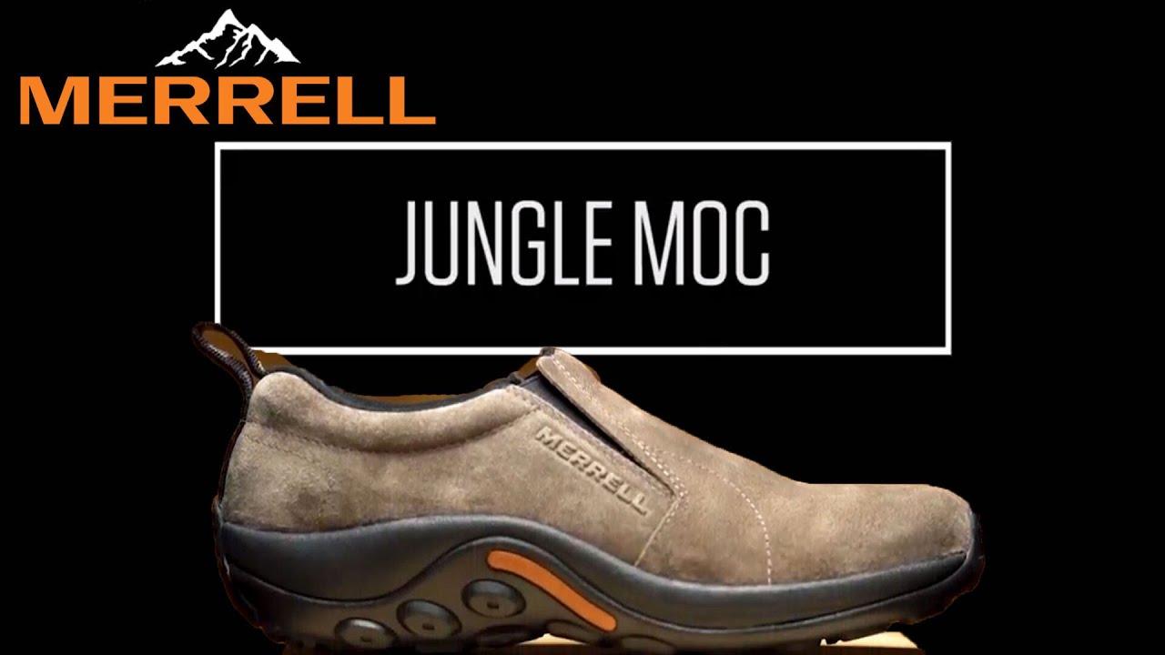 merrell jungle moc leather waterproof wall