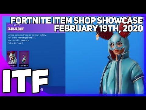 Fortnite Item Shop LAST SHOP OF CHAPTER 2 SEASON 1! [February 19th, 2020] (Fortnite Battle Royale)