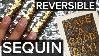 4 Creative Ways To Use Reversible Sequin Fabric