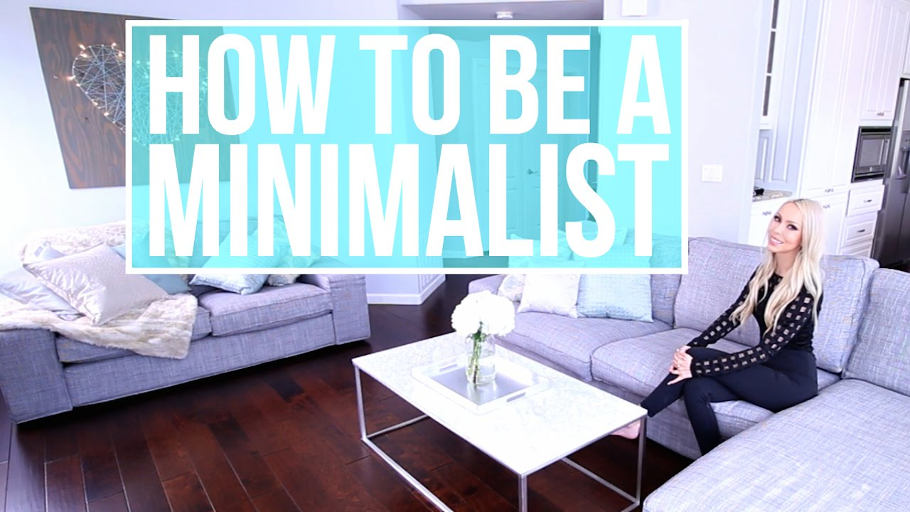 how to become a minimalist declutter and simplify youtube. Black Bedroom Furniture Sets. Home Design Ideas