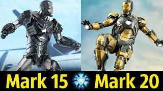 😎 Костюмы Железного Человека (Mark 15 - Mark 20) ! Детальный Разбор (Часть 3)👍!