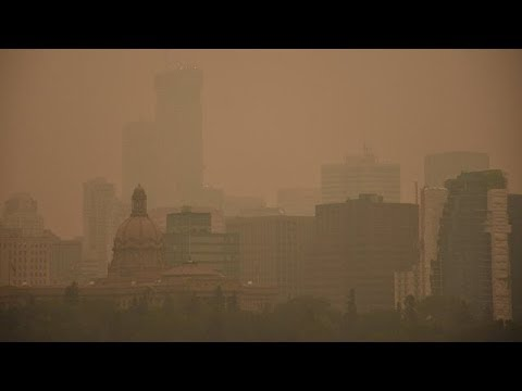 Air quality warnings issued as B.C. wildfires rage