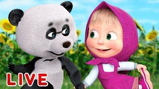 🔴 ПРЯМОЙ ЭФИР! LIVE Маша и Медведь 👱♀️🐻 Страшно весело! 👻🤣