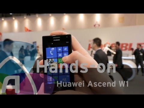 Huawei Ascend W1 hands-on/preview (Dutch)
