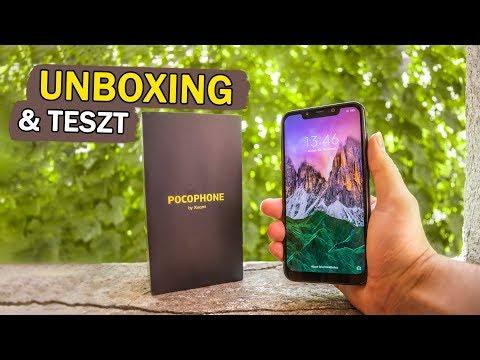 Xiaomi POCOPHONE F1 - UNBOXING és TESZT