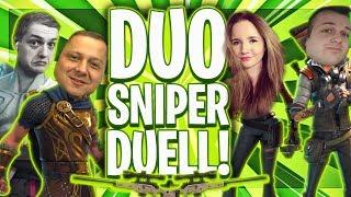 🎯👥SNIPER DUO DUELL! | Wer schafft mehr Kills als Team?! | Fortnite Deutsch