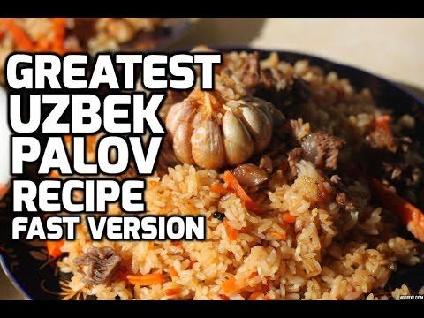 How to make the Greatest Uzbek Palov Tutorial (Pilaf, Plov, Osh, etc..) [HD] FastFoward Version