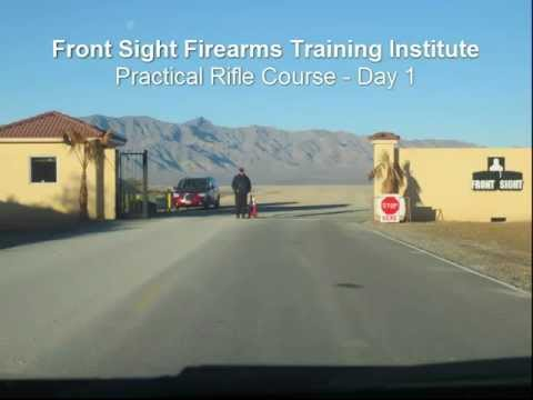 Front Sight Firearms Training Institute: Practical Rifle Course Review, Day 1