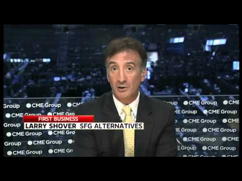 """Larry Shover SKY NEWS BUSINESS - Australia """"First Edition"""" - 8/22/13"""