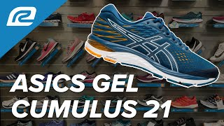 ASICS Gel Cumulus 21 - First Look With RRS Fit Expert   Shoe Review