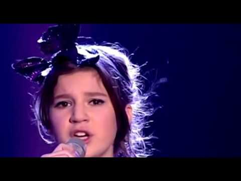 Little girl with amazing voice! The song Plava Laguna sang in  Fifth Element  live! no Computer FXs!