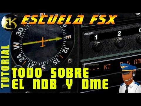Escuela FSX#2 para principiantes el NDB y DME ► FSX SE  ► Gameplay Español