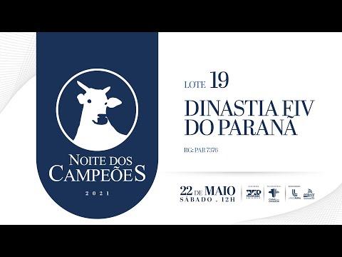 Lote 19   DINASTIA FIV DO PARANA   PAR 7376 Copy 1
