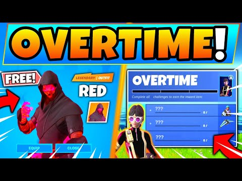 Fortnite OVERTIME CHALLENGES AND FREE SKINS In Chapter 2! - New Update In Battle Royale!