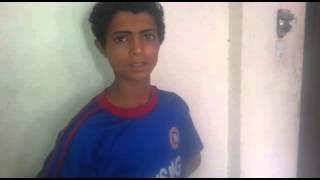 حوثي صغير تم أسره في معارك العند