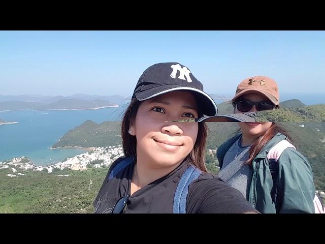 High junk peak trail hiking