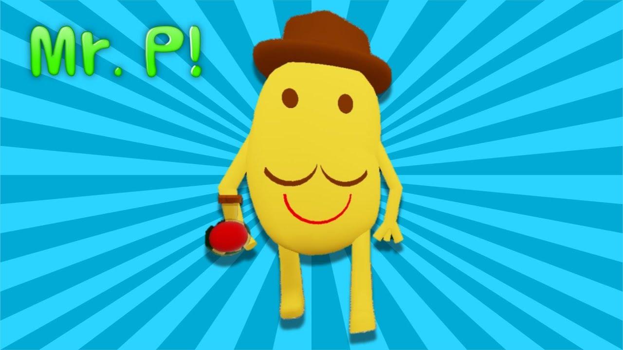 Mr P Showcase Movement Kill Animation Piggy Custom