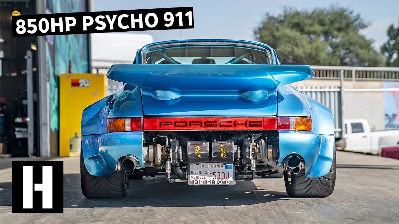 Twin Turbo 850 Horsepower Ultra Light 911 Of Our Dreams Built By Bisimoto Youtube