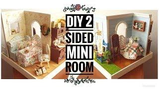 DIY 2-Sided Miniature Room (Mary