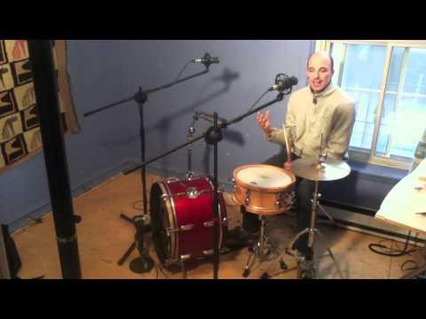 Drum Lesson : Afro-Peruvian rhythm (Festejo) on drumset