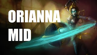 League of Legends - Orianna Mid - Full Game Commentary