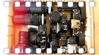 """Meine Analog Kamera """"nicht Sammlung"""" - April 2016 - Canon, Nikon, Pentax 🎞 Flanell, Kameras & Film"""