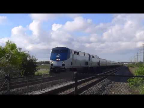 Trains in Palm Beach County, Florida - TriRail, Amtrak, Florida East Coast freight