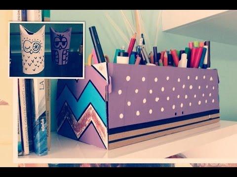 Como organizar y decorar tu habitacion diy doovi for Como organizar mi habitacion