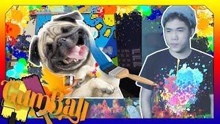 Nấm Vẽ Dog Pug ( Minecraft Vẽ Tranh )