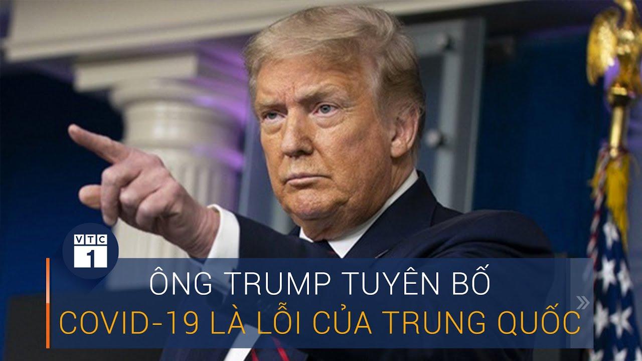 Tranh luận Trump Vs Biden: Ông Trump tuyên bố Covid-19 là lỗi của Trung Quốc | VTC1