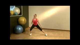 Фитнес для женщин дома (Часть 1)