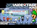 PLAYING AS LUIGI IN UNDERTALE - MYSTERYTALE ONLINE [AWESOME UNDERTALE  MMO MULTIPLAYER GAME]