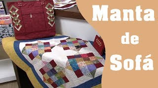 Como fazer uma manta de sofá em Patchwork