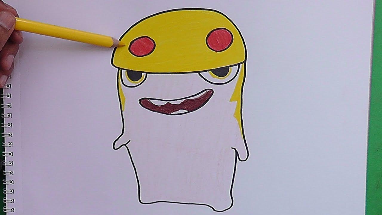 Dibujando Y Coloreando A Demoledora Bajoterra Drawing And Coloring Demoledora