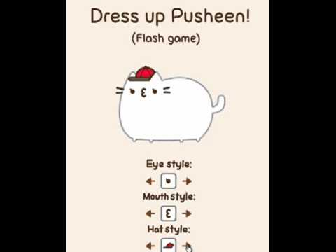 Pusheen Dress Up Game!