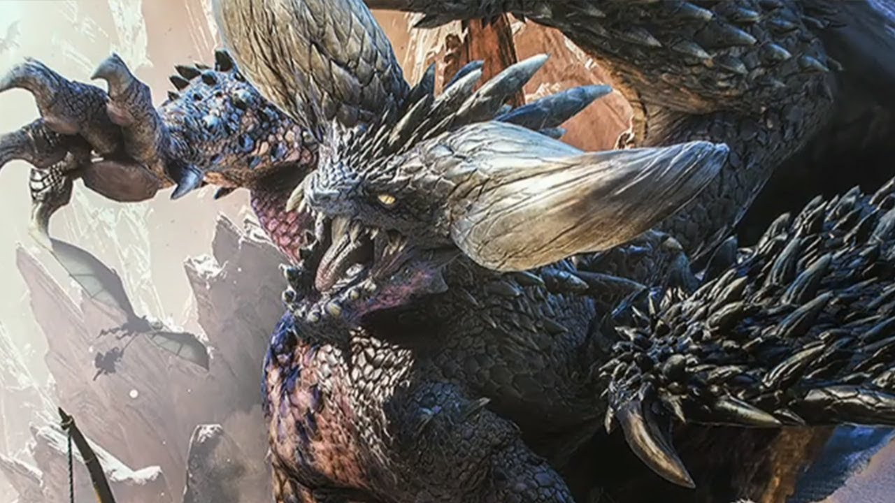 Defeating Nergigante In Monster Hunter World Beta Livestream Ign