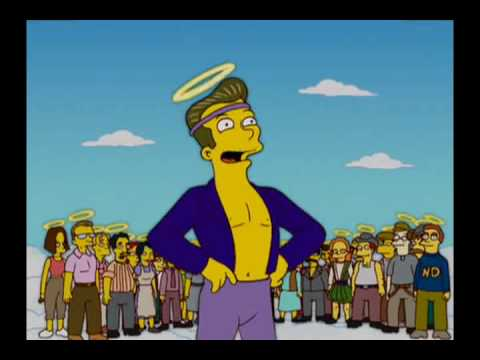 The Simpsons - Protestant Heaven vs. Catholic Heaven
